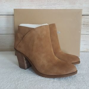 New Lucky Brand Eesa Leather Bootie